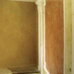 Венецианская штукатурка в зеркале
