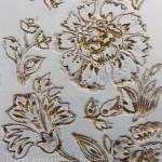 Рельефное орнаментальное 3d-панно ручной работы фото