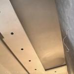 Декоративная штукатурка Сементо на потолке