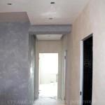 Декоративная штукатурка под бетон и травертин