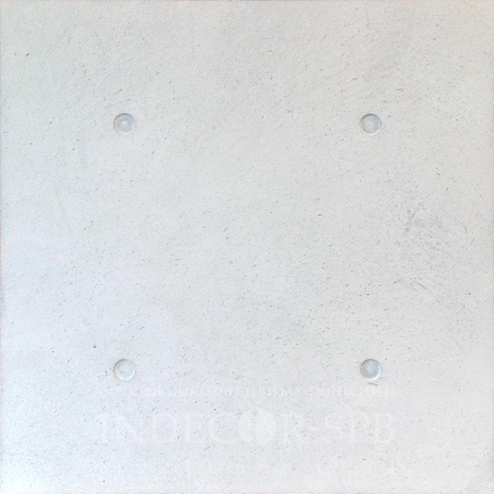 Панели под бетон белый