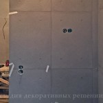Панели под бетон процесс монтажа