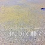 Золотистые панели под бетон