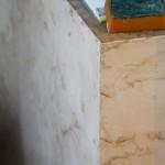 Отделка стен лоджии
