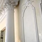 Венецианская штукатурка на колнне
