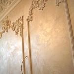 Декоративная штукатурка Шелк в спальне