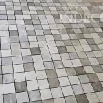 Изготовление мозаики из бетона