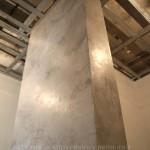 Штукатурка под бетон, глянец