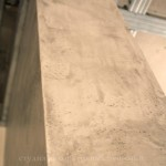 Штукатурка под бетон с глянцевым блеском