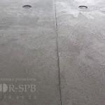 Панели под бетон темные с перфорацией