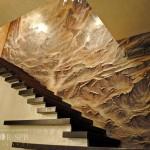 Декоративное панно и последующая роспись аэрография