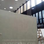 Декоративная штукатурка на стенде привилегия на экспофоруме Индекор-СПб