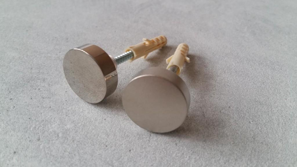 Декоративные заглушки стальные с саморезами