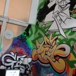 Фото - пример граффити внутри помещения