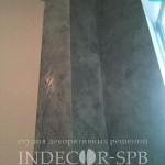 Декоратиная штукатурка ефект бетона