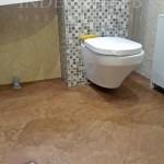 микроцмент для пола в туалете