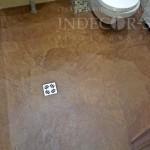 микроцемент для пола в ванной