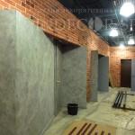 арт бетон в кафе