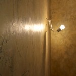 Декоративная штукатурка кракелюр патинированное золото