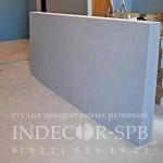 Декоративная штукатурка бетон в квартире лофт