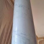 Колонны, отделанные венецианской штукатуркой