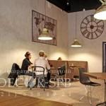 Травертин в кафетерии