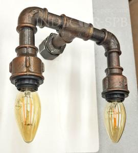 Светильники из сантехнических труб