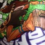 Роспись граффити