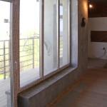 Отделка стен под бетон