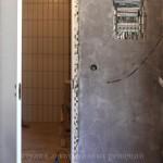 Отделка двери под бетон