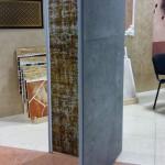 Панели под бетон на стенде