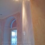 Венецианская штукатурка под мрамор светло-розовый