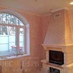 Венецианская штукатурка под мрамор розовый