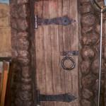 Декоративное панно Дверь в кафе