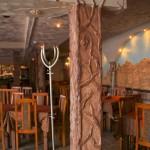 Декоративное панно в кафе